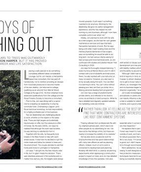 Pro Arb Magazine Article